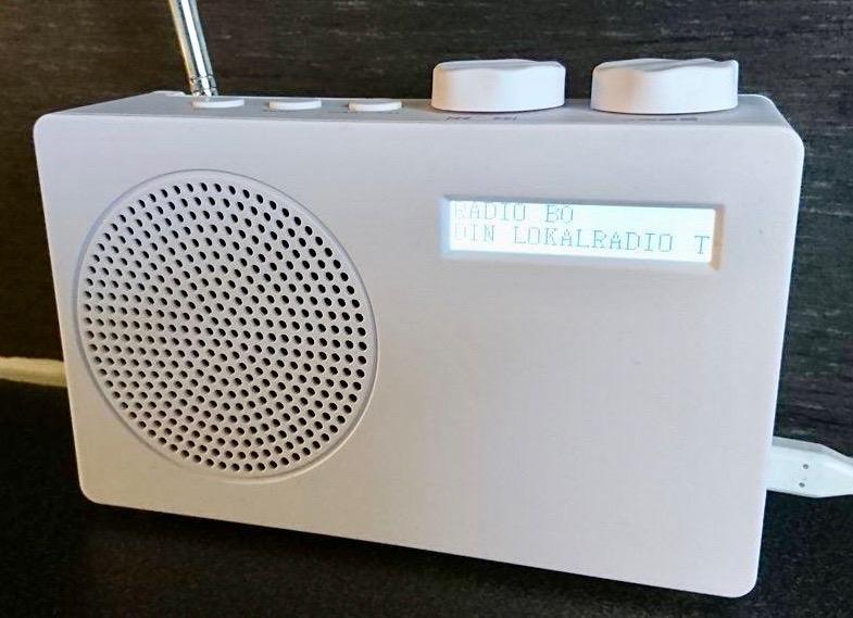 Fotografi av radio