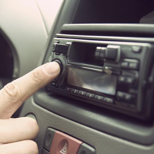 Forografi av bilradio